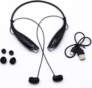 Allmusic Wireless Headphone Oppo/Vivo Stereo Earphone Sweatproof Neckband Bluetooth Headset