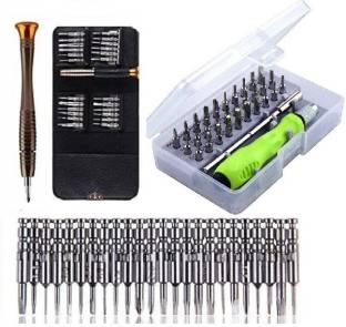 Corslet Set of 2 Screwdriver Set 25 in 1 Torx Multifunctional Opening Repair Tool Set Precision Screwd...