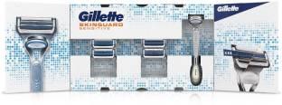 GILLETTE Skinguard Razor+ 3 Cartridges (Blades)