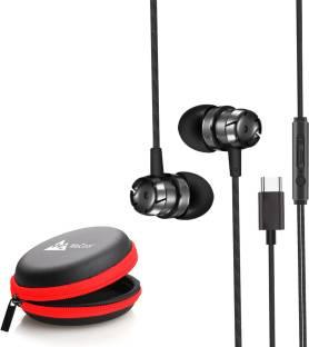 WeCool In Ear USB Type C earphones/ headphones with mic Wired Headset