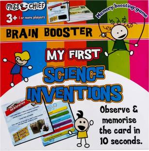 Miss & Chief My First Science Inventions