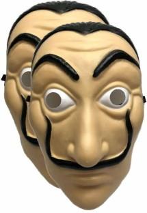 La Casa De Papel Mask Salvador Dali Face Mask Masque Mascara de Dali Money Heist