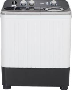 Haier 7 kg Semi Automatic Top Load Black, White