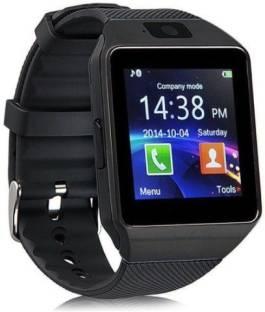 E-LIVE DZ09 Black 4g calling health notifier Smartwatch