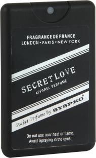 Syspro Pocket Perfume Secret love Apparel Perfume Special For Valentine's Day & Birthday Gift For Men/Women (16 ml) Perfume  -  16 ml