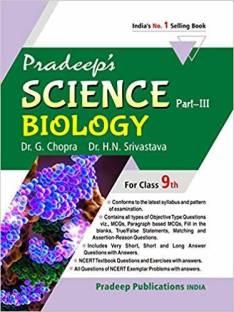 Pradeep's Science Part III (Biology) for Class 9