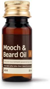 USTRAA Mooch & Beard Oil 4x4 (35 ml) Hair Oil