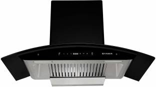 Faber Hood Primus Plus Energy TC HC BK-N Auto Clean Wall Mounted Chimney