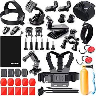 Dream 40 in 1 Action Camera Accessories Kit Set Bundle Chest Strap Head Strap Long Screw Wrist Strap for GoPro Hero 5 4 3+ Strap
