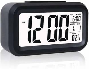 Hinmin Digital Black Clock