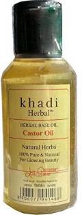 Herbal Khadi Pure and Natural Castor Oil Hair Oil