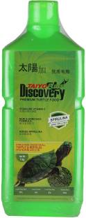 Taiyo Pluss Discovery Premium Turtle Food 1 KG Seal Pack Fish 1 kg Dry New Born, Adult, Young, Senior ...