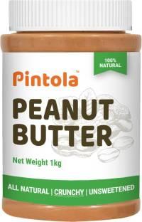 Pintola All Natural Peanut Butter (Crunchy) 1 kg