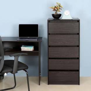 @home by Nilkamal Cohen Engineered Wood Free Standing Chest of Drawers Finish Color   Brown