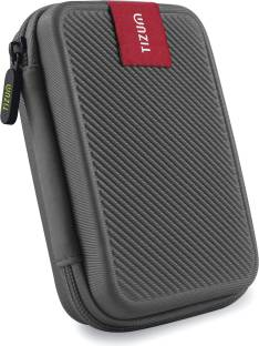 Tizum Hard Drive Case 2.5 inch Double Padded