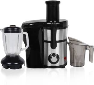 BMS Lifestyle juicer 5-in-1 Professional Food Processer and Juicer Combo, Powerful Motor with 2-Speed,...