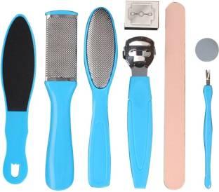 MAKHAI Foot File Set- Dead Hard Skin Callus Remover, Portable Scraper Pedicure Kit set Tools,Foot Care Too