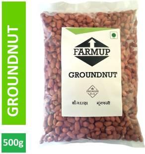 FARMUP Brown Raw Peanut (Whole)