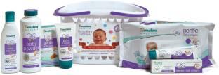 HIMALAYA HAPPY BABY GIFT BASKET (7 IN 1)