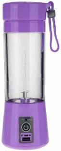 WDS UBX 50 Rechargeable Portable Electric Mini USB Juicer Bottle Blender 0 Juicer Mixer Grinder (1 Jar...