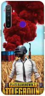 TPM Back Cover for Realme 5s Printed Pubg Game Mobile Back Cover