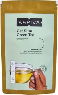 Kapiva Ayurvedic Green Tea Garcinia Cambogia Helps Detox Weight Loss Body Cleansing Cinnamon Lemon Grass Pouch