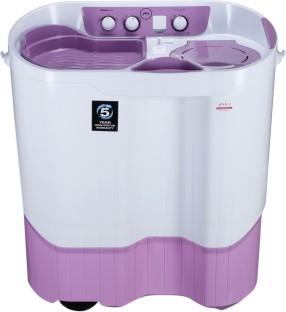 Godrej 9 Kg Semi Automatic Top Load Washing Machine (WS Edge Pro 900 ES LISP, White & Purple)