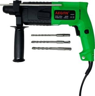 AEGON 20 mm Heavy Duty Drilling & Hammering in Concrete, Masonry, Wood, Steel AHD201 Rotary Hammer Dri...