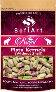 Soft Art Royal Pista Kernels Without Shell Vaccum Pack Pistachios