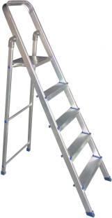 SUKOTS 5 STEP ALUMINIUM ANODIZED FOLD ABLE LADDER Aluminium Ladder