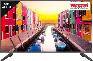 Weston 108 cm (43 inch) Ultra HD (4K) LED Smart TV
