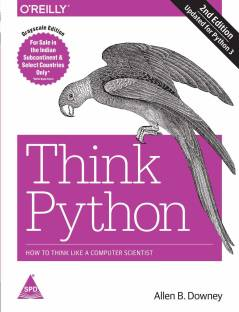 Think Python, 2nd Edition - How to Think Like a Computer Scientist (English, Paperback, Allen B. Downey) - How to Think Like a Computer Scientist