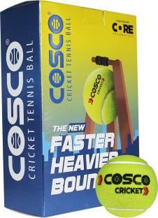 COSCO Light Weight Cricket Tennis Ball