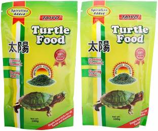 TAIYO Complete Nutrition 0.2 kg (2x0.1 kg) Dry Adult, New Born, Young Turtle Food