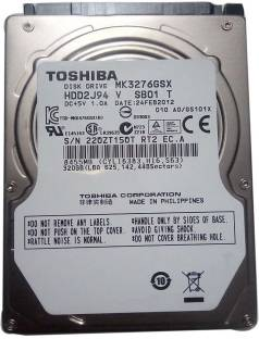 TOSHIBA CORPORATION 320 GB Laptop Internal Hard Disk Drive (MK3276GSX)