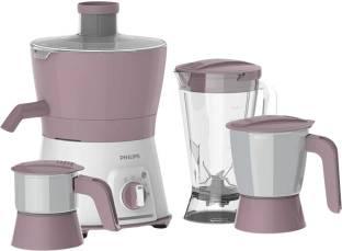 PHILIPS Avenger HL7581 600 Juicer Mixer Grinder (3 Jars, Pink)
