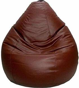 KS Collection XL Tear Drop Bean Bag Cover  (Without Beans)