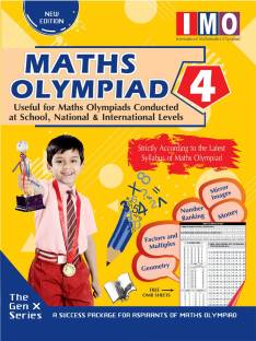 International Maths Olympiad - Class 4 (With OMR Sheets)