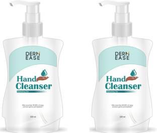 DERMEASE  with 100% Gauranteed Germ Free Hand Pack Of 2 Hand Sanitizer Pump Dispenser