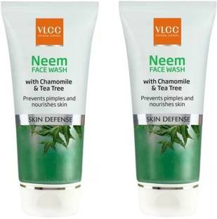 VLCC Neem  With Chamomile and Tea Tree,150ml Each Face Wash