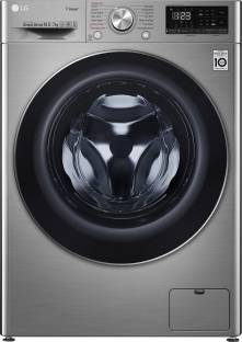 LG 10.5/7 kg Inverter Wi-Fi with Turbo Wash 360 degree Washer with Dryer with In-built Heater Silver