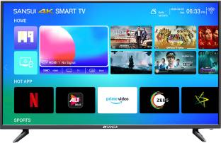 Sansui Pro View 109 cm (43 inch) Ultra HD (4K) LED Smart TV with Powered by dbx-tv Sound