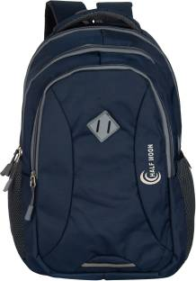Half Moon Waterproof Laptop Backpack Bag with Rain Cover 35 L Laptop Backpack