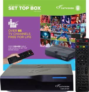 Catvision DD FreeDish MPEG2 SD CSR-201SP Media Streaming Device