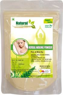 Natural Health and Herbal Products Herbal Wax Powder Instant Hair Remover (100 g) Wax