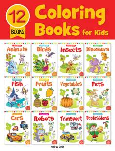 Miss & Chief Colouring Books For Kids(Pack of 12 Books)