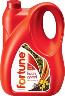 Fortune Kachi Ghani Mustard Oil Can