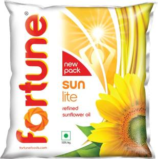 Fortune Sunlite Refined Sunflower Oil Pouch