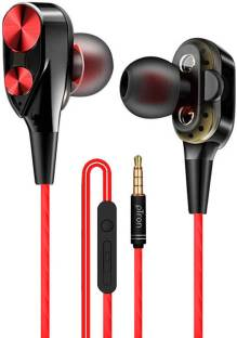 PTron Boom Duo Dual Driver Wired Headset
