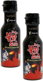 samyang Buldak Hot Chicken Flavor Sauce, 200g Pack of 2 Sauce